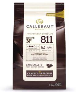 Ciocolată Neagra - 2,5 KG - 54,5%%- Callebaut®