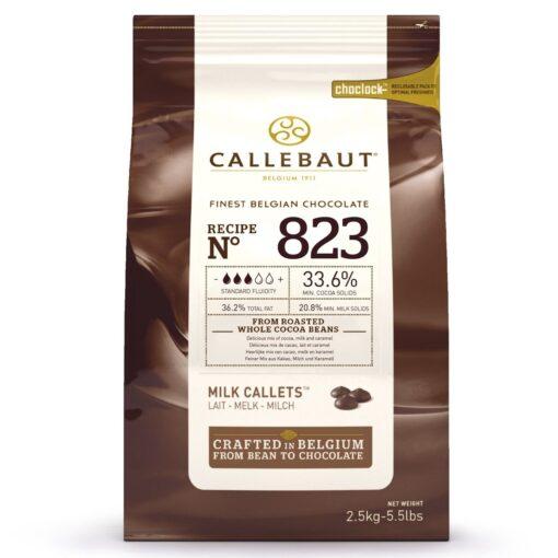 Ciocolata Fina cu Lapte - 2,5 kg - 33.6% -Callebaut®