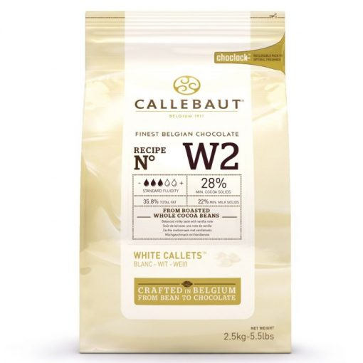 Ciocolata Fina Alba - 2,5 KG - 28% - Callebaut®