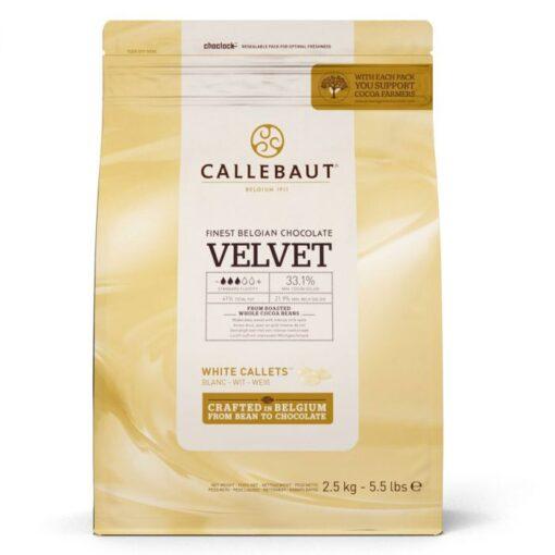 Ciocolata Velvet Fina - 2,5 KG - Callebaut®