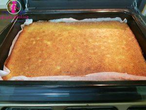 Prăjitură de brânză de vaci