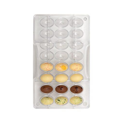 Forma din policarbonat Oua din Ciocolata-Decora