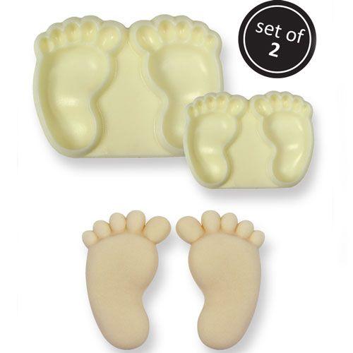 Set Decupatoare Picioare Bebeluși - JEM