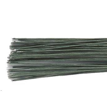 Sarme Flori Verde Inchis - 50 fire - 0.3 mm grosime -28 gauge - Culpitt