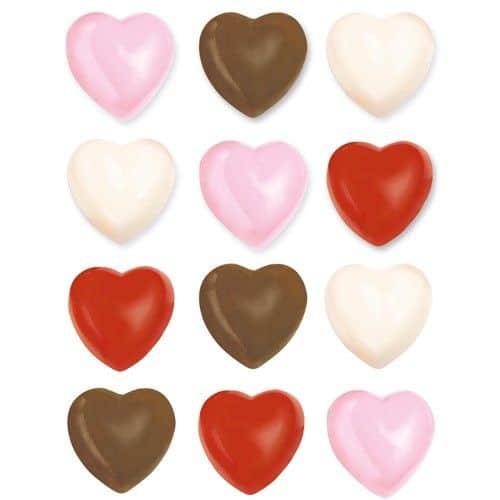 Forma pentru ciocolata -Inimi- Wilton