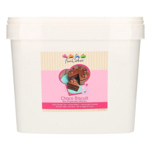 Mix pentru blaturi de Ciocolata 5 KG - Galeata - FunCakes