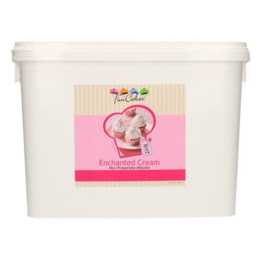Mix Pentru a Obtine Creme Pufoase cu Aroma de Vanilie -4.5 KG-FunCakes