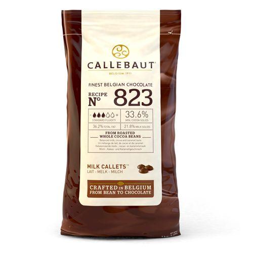 Ciocolata cu Lapte Dropsuri - 1 KG - 33.6% Cacao - Callebaut®