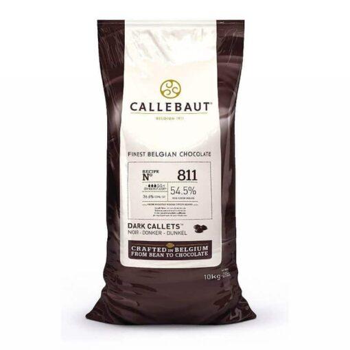 Ciocolată Neagră Dropsuri,Recipe 811 - 10 KG -54,5% Cacao-Callebaut®