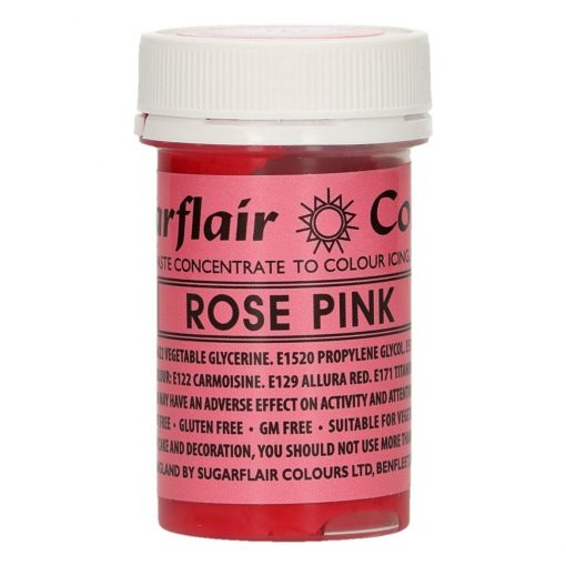 Colorant Pasta/Gel - ROSE PINK / Roz Pink – 25 G – Sugarflair