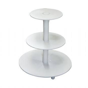 Suport Tort Plastic 3 etaje -19,5 cm, 24 cm si 34 cm