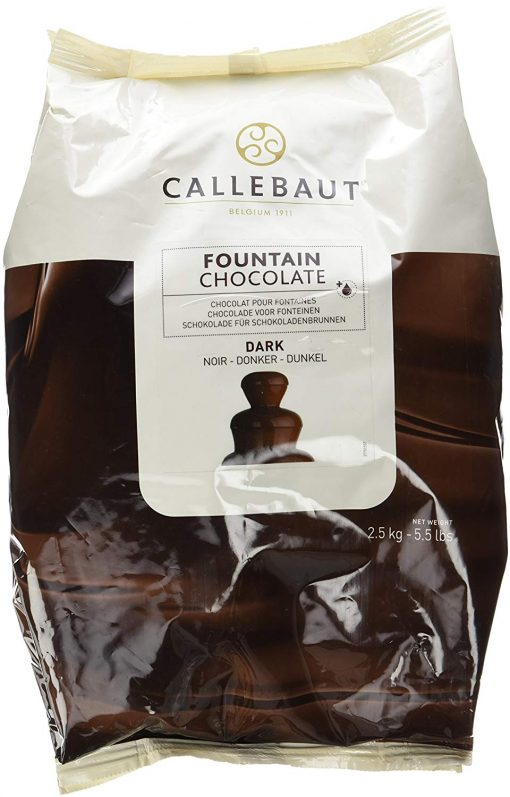 Ciocolată Neagră pentru Fantană de Ciocolata-2.5 KG -57.6% Cacao - Callebaut