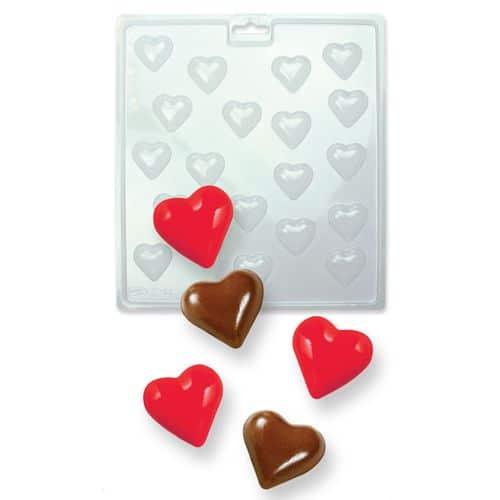 Forma pentru Ciocolata -Mini Inimioare-PME