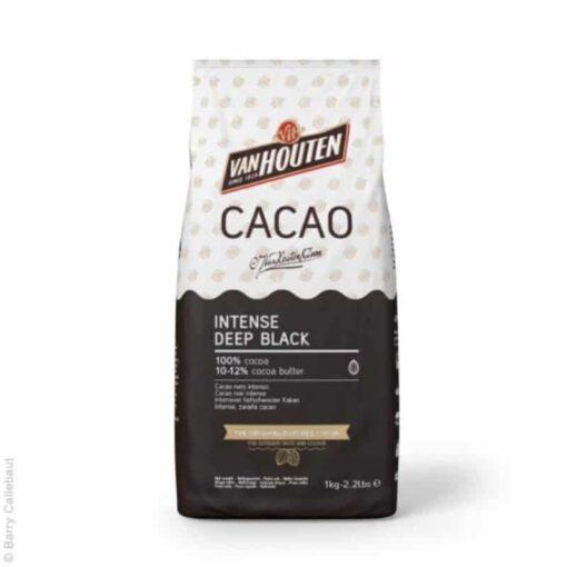 Cacao Intense Deep Black- 1KG - Van Houten