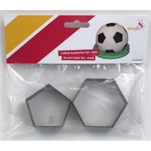 Set decupatoare pentru minge fotbal - Dekoffe