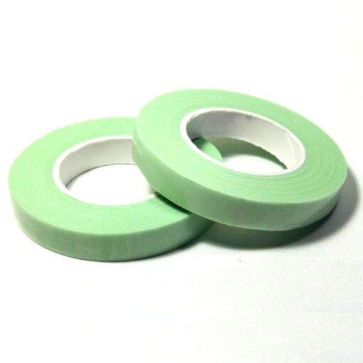 Banda Flori culoarea verde viu 12 mm-Dekofee