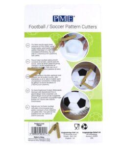 Set 4 Decupatoare Minge de Fotbal - PME
