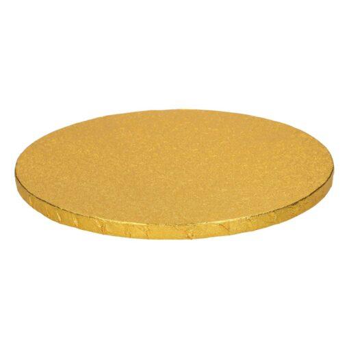 Blat Rotund – Auriu – 30,5CM - Funcakes