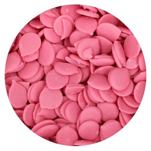 Ciocolata Glazuri-Roz-(Deco Melts)-250G–FunCakes
