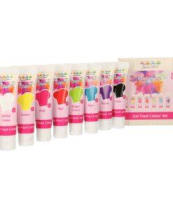 Set Coloranti Gel – 8 Bucati - FunCakes