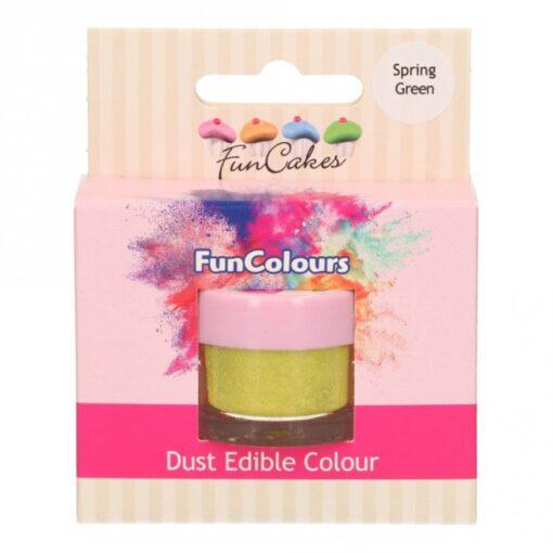 Colorant Pudra FunColours - SPRING GREEN / Verde Primavara - FunCakes