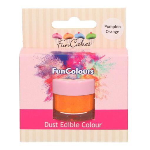 Colorant Pudra FunColours – PUMPKIN ORANGE / Portocaliu Dovleac – FunCakes