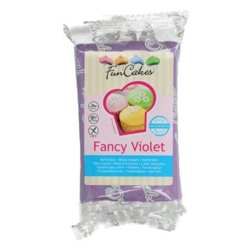 Fondant - Fancy Violet - 250G -FunCakes