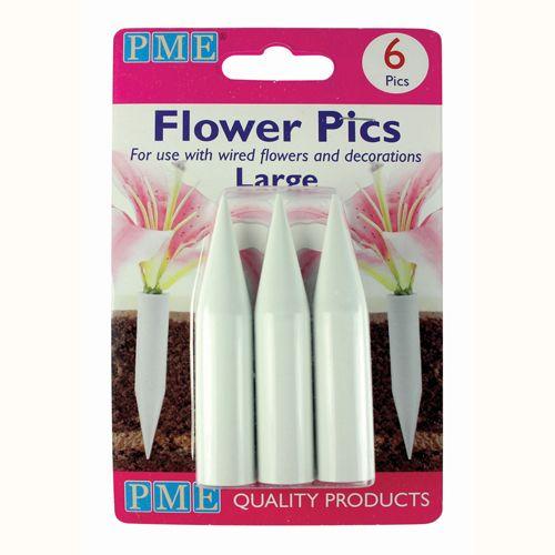 Suport pentru Flori Decorative Mari- 6 buc- PME