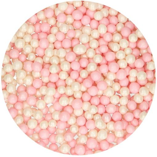Perle Roz și Albe – 500GR – FunCakes
