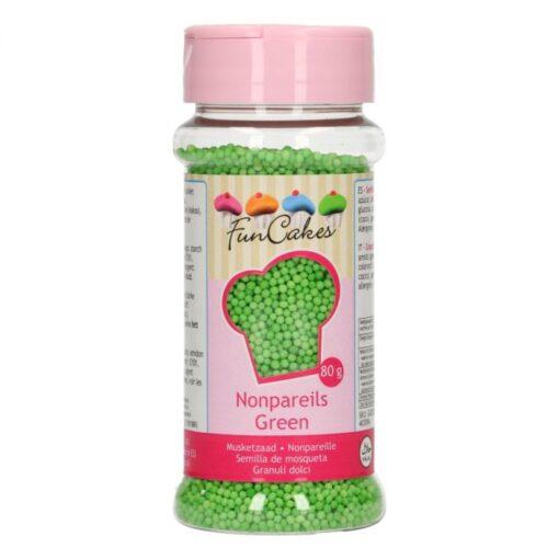 Perle Decorative – Verde – 80G - FunCakes