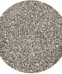 Zahăr Colorat 80G - Argintiu Metalic - FunCakes
