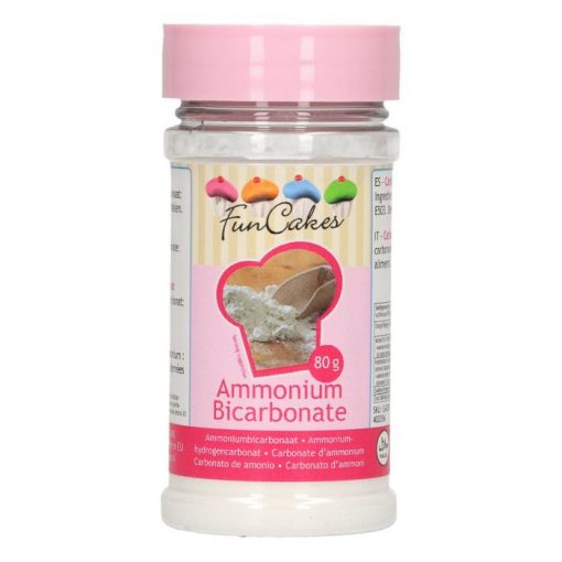 Bicarbonat de Amoniu - 80G - FunCakes