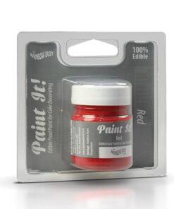 Colorant Alimentar pentru Pictat RED / Roșu - 25 ML - Rainbow Dust