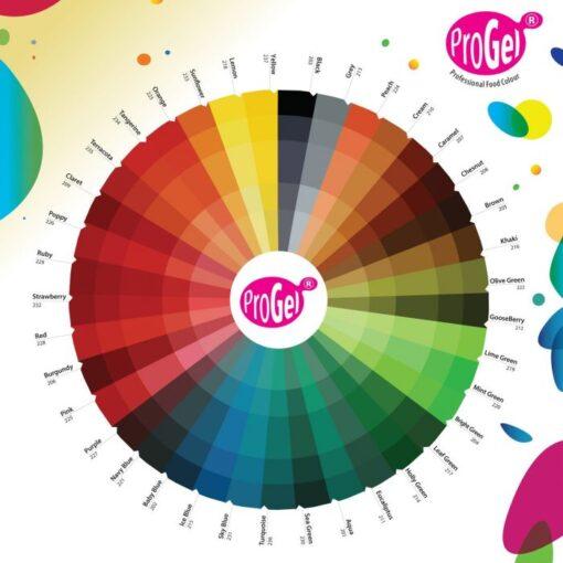 Colorant Alimentar Concentrat - CREAM / Cremă - ProGel -Rainbow Dust