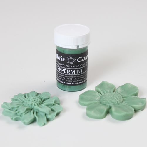 Colorant Pasta/Gel - PEPPERMINT / Verde Menta 25g - Sugarflair
