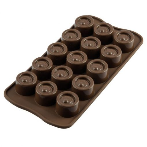 Forma Silicon Ciocolata Vertigo- Silikomart