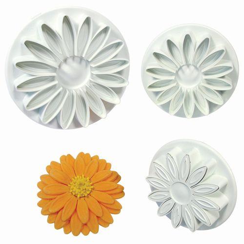 Set 3 Decupatoare Floarea Soarelui/Margareta/ Gerbera - PME