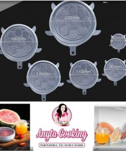 Capace flexibile din Silicon - Set 6 - Anyta Cooking