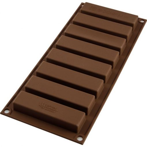 Forma Silicon pentru Ciocolata Batoane - Silikomart