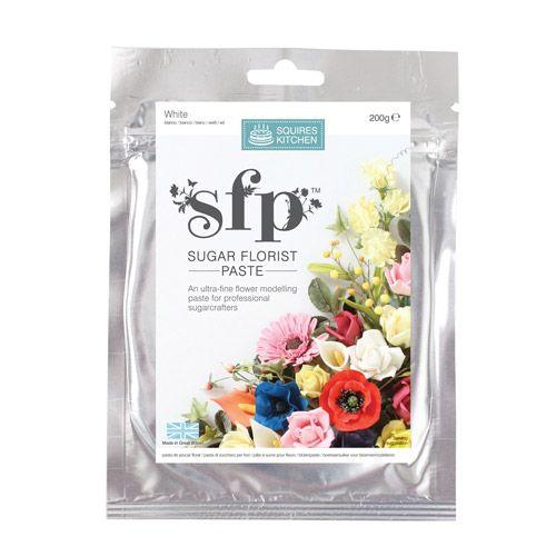 Pastă din Zahăr pentru Decorațiuni Florale – 200 G – Squires Kitchen