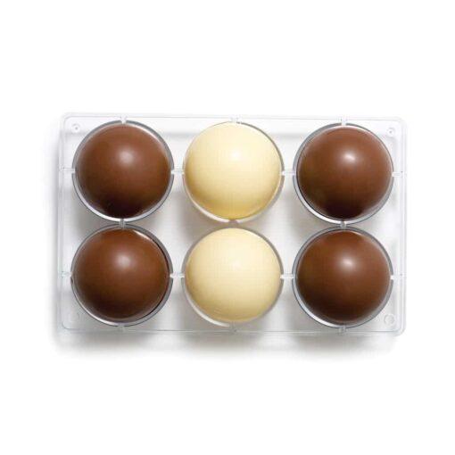 Semisfere pentru Ciocolata 275 X 150 X 75 MM - Decora