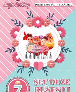 Set 7 duze-duiuri Rusesti - Rochie- Anyta Cooking [Transport GRATIS]