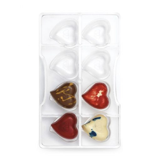 Forma pentru Ciocolata - Inimioare - Decora