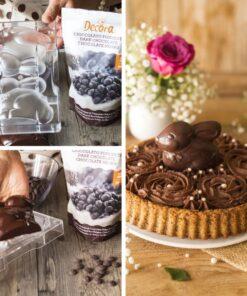Formă pentru Ciocolată –130 x 110 mm- Iepuras – Decora
