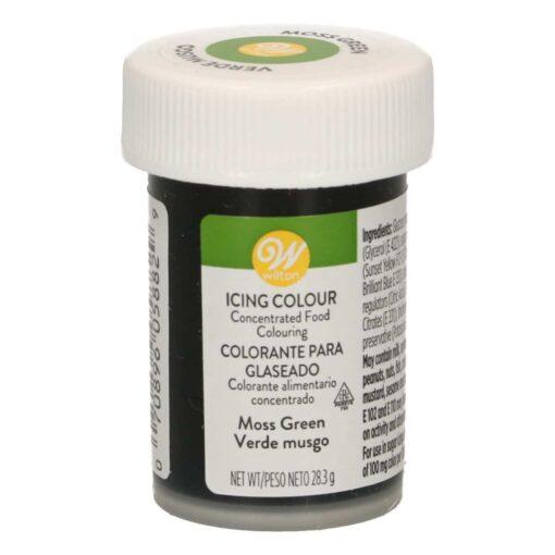 Colorant alimentar Pasta/Gel- Moss Green- 28 gr. - Wilton