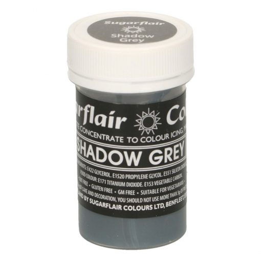 Colorant Gel – GRI / Shadow Grey– Sugarflair