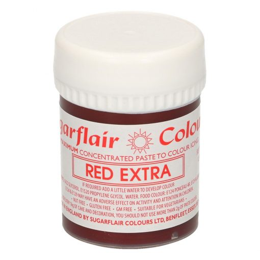 Colorant Gel – ROSU / Red Extra – Sugarflair