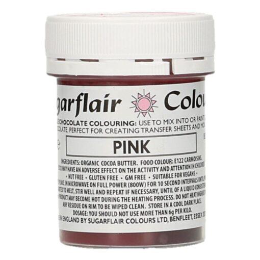 Colorant Ciocolata – PINK / ROZ – Sugarflair