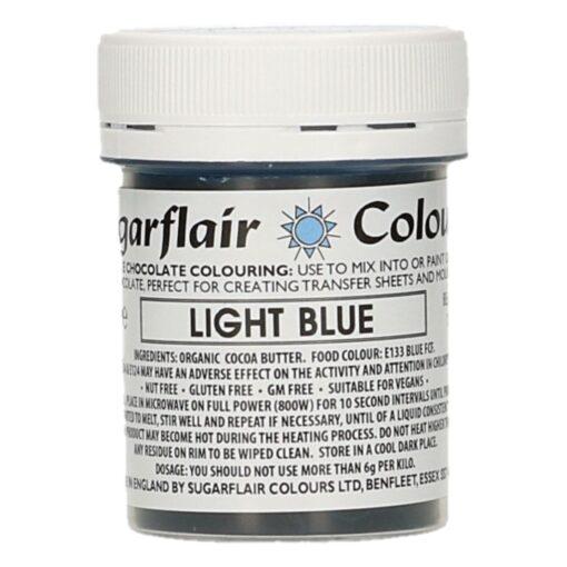Colorant Ciocolata – LIGHT BLUE / ALBASTRU DESCHIS – Sugarflair