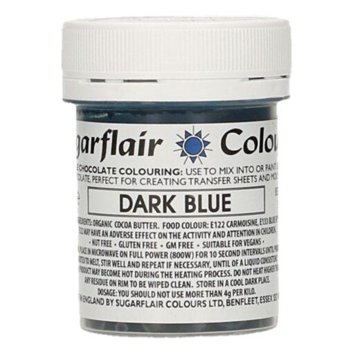 Colorant Ciocolata – DARK BLUE / ALBASTRU INCHIS – Sugarflair